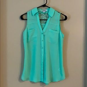 Express Tops - Express Portofino Shirt Sleeveless